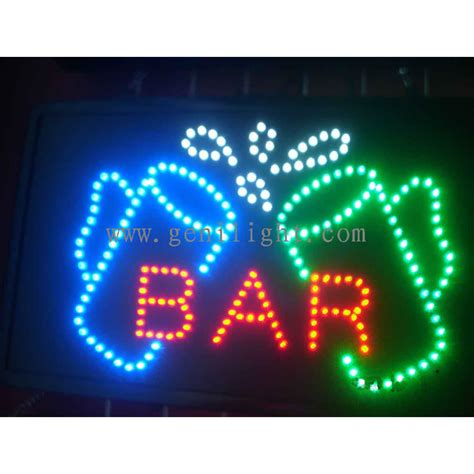 led sign light bar search result bar sign genilight optoelectronic