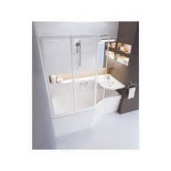 baignoire asym 233 trique gain de place ravak behappy