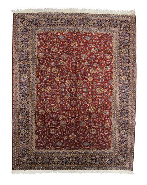 Handmade Persian Wool Carpet 9 8 X 12 8 Vintage Handmade Rugs