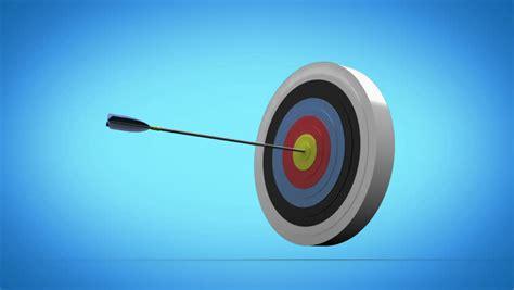 grey wallpaper target arrows flying towards dart board and hitting target on
