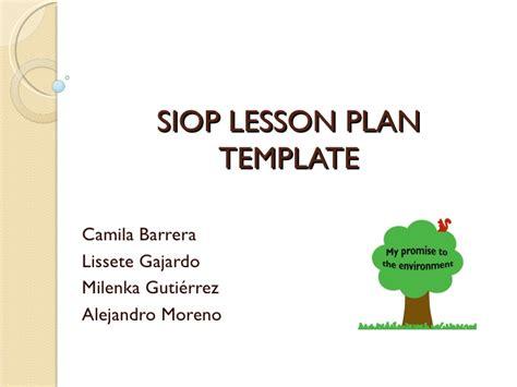 8 siop lesson plan template letterhead template sample