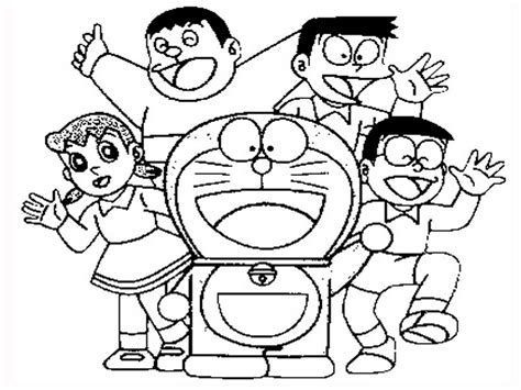 dora emon coloring page how to draw doraemon coloring pages
