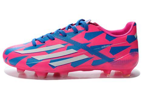 adidas f50 football shoes adidas f50 adizero trx fg football boots bule pink