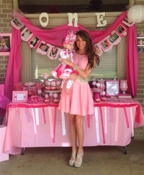 themes for toddler girl birthday party baby girl first birthday party decorations amazing