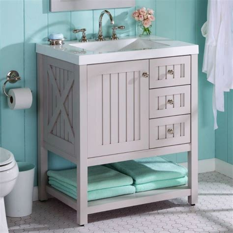 cottage style bathroom vanities cabinets 26 bathroom vanity ideas decoholic