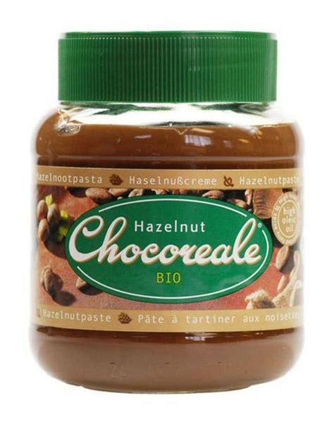 Hazelnut Organic organic chocolate and hazelnut spread in 350g from chocoreale