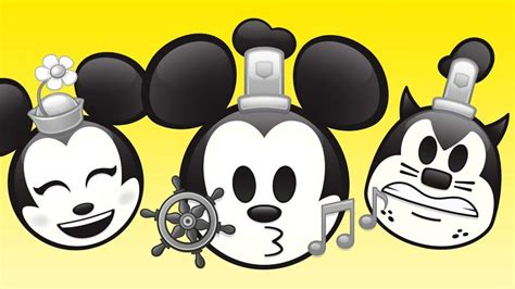 steamboat willie mickey mouse disney s steamboat willie gets the quot as told by emoji