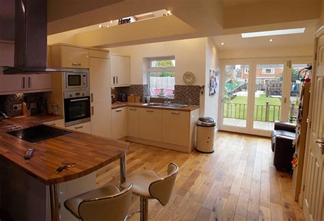 Open Floor Plans With Large Kitchens by Kenilworth Architecture House Extension Rag Architects