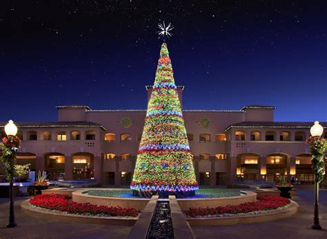 scottsdake az christmas lights featured on diy be enchanted in a winter at fairmont scottsdale princess