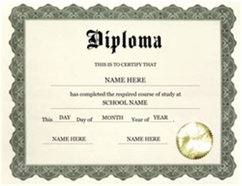7 Best Images Of Free Printable Blank Diploma Template Blank Diploma Certificate Template Free Printable High School Diploma Templates