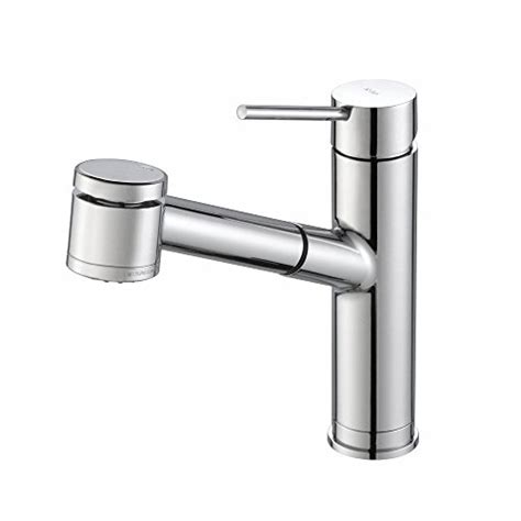 kraus single lever pull out kitchen faucet contemporary kraus single lever pull out kitchen faucet chrome