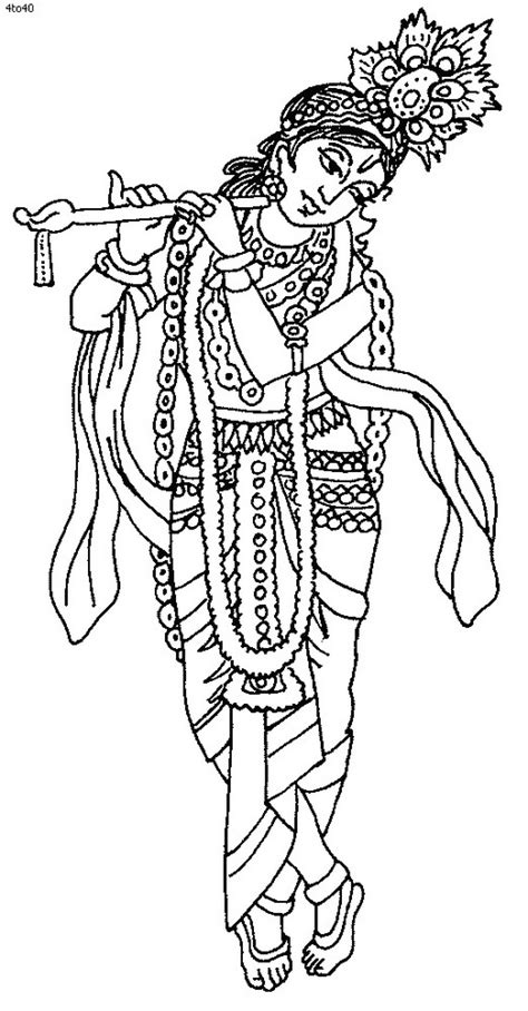 Adult Coloring Pages Lord Krishna Coloring Pages Lord Krishna Coloring Pages