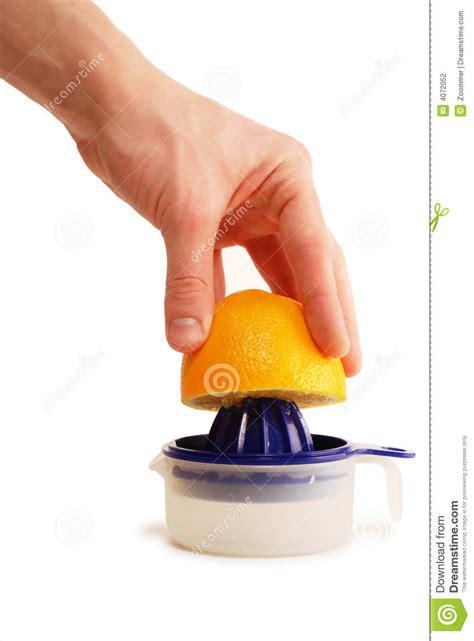 Orange Squeeze orange squeezer stock photography image 4072052