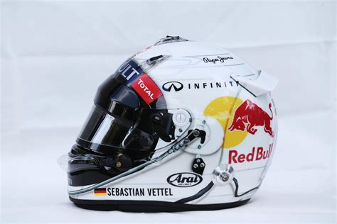 helm for design sebastian vettel helm design die coolsten exemplare