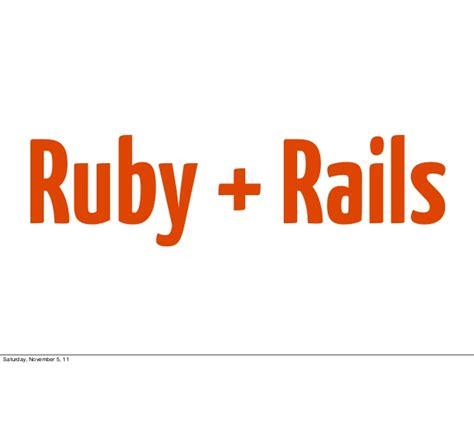 ionic rails tutorial ruby rails