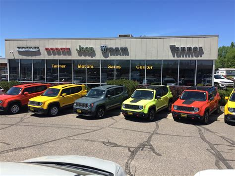 About Tanner Motors in Brainerd, MN   New RAM, Jeep, Dodge