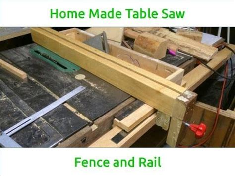Table Saw Fence And Rail System by The World S Catalog Of Ideas