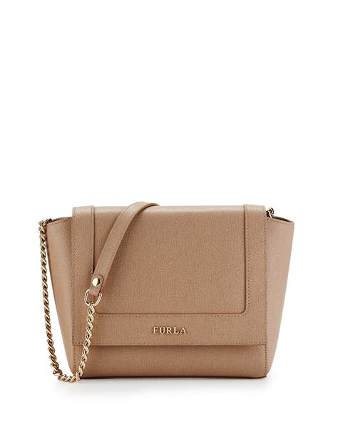 Mini Dress Furla furla ginerva mini leather crossbody bag in lyst
