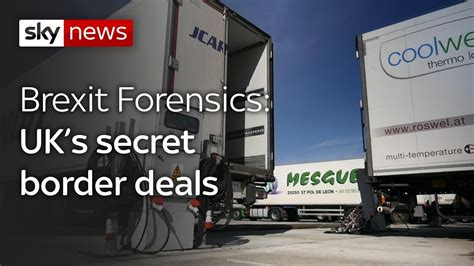Max Secret Deals by Brexit Forensics Secret Border Deals