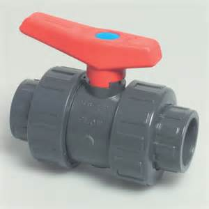 Swimming Pool Handrail 1 Quot Grey Pvc Double Union Ball Valve Swimming Pool Supplies