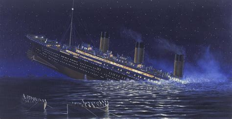 how titanic boat sank the sinking of the titanic british titanic society