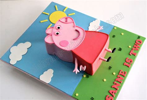 peppa pig template for cake peppa pig cake template www imgkid the image kid