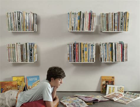 wall shelves for books judd wall shelves by teebooks keep your books suspended