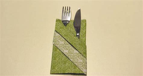 servietten tasche falten servietten falten effektvolle tischdeko schnell bis