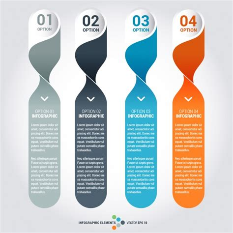 Infographic Element Templates Set Vector Free Download Free Graphic Templates