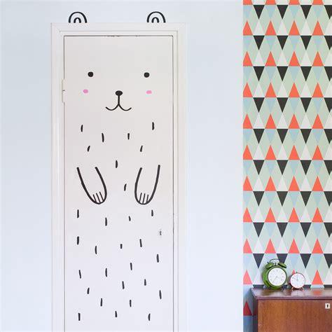 bedroom door decals a simple way to decorate a kids bedroom door decals be