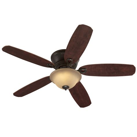52 flush mount ceiling fan shop harbor breeze pawtucket 52 in oil rubbed bronze flush