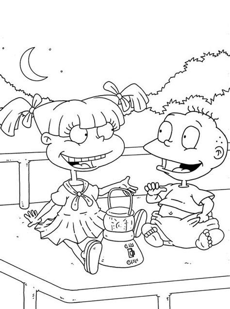 rugrats coloring pages printable rugrats coloring pages coloring me