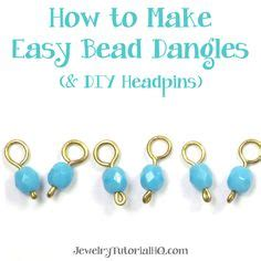 how to make headpins for jewelry jewelry tutorials on wire jewelry and