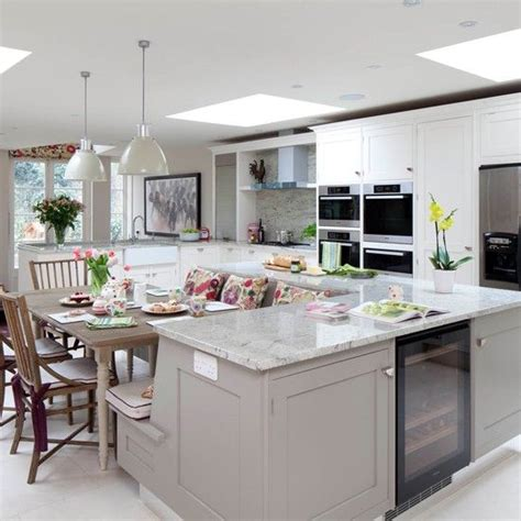 built in kitchen islands with seating 30 kitchen islands with seating and dining areas digsdigs