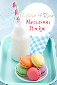 easy macaroon cookie recipe slick housewives