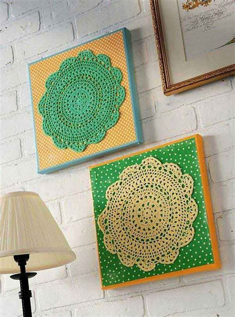 inexpensive diy wall decor ideas and crafts