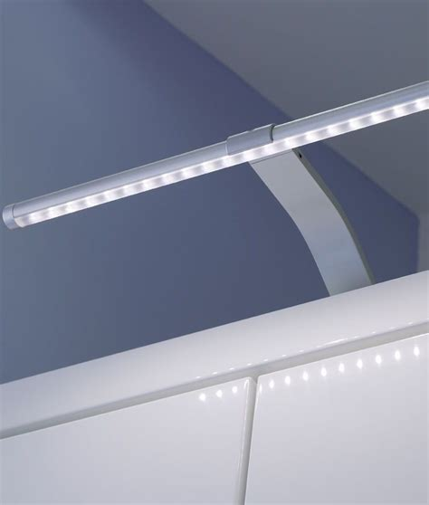 Slim Led Over Cabinet Light On Swan Neck Bracket Cupboard Led Lights