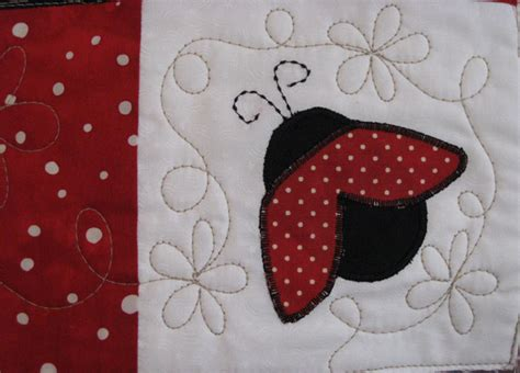 Ladybug Quilt Patterns by Pq Quilters Ladybug Quilt