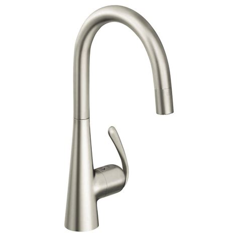 sprayer kitchen faucet kissler co dominion single handle pull down sprayer