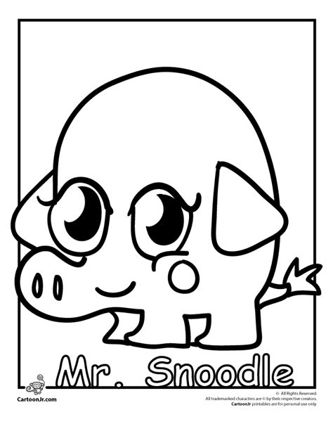 moshi monsters coloring pages poppet moshi monster coloring pages az coloring pages