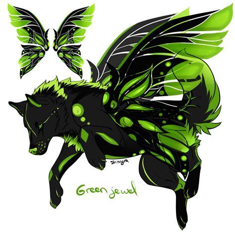 green jewel wallpaper green jewel closed by shinayra on deviantart