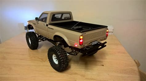 rc toyota rc 1 10 scale tamiya hilux mountain rider the build