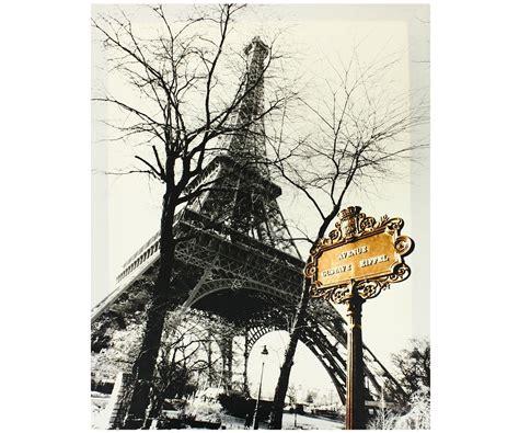 agréable Tableau Ambiance Et Style #1: tableau_toile_design_paris_vintage_cinema_tour_eiffel_avenue_pas_cher_1000.jpg