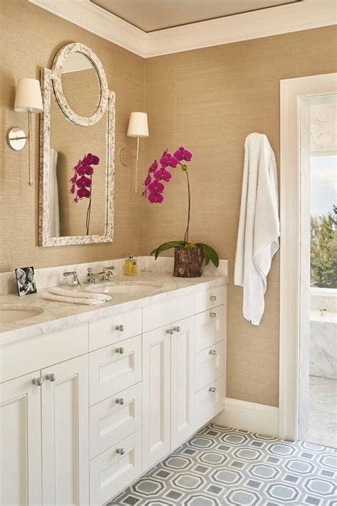 white and gold bathroom ideas white and gold bathroom with gray tile floor