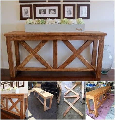 fabulous diy entryway table ideas