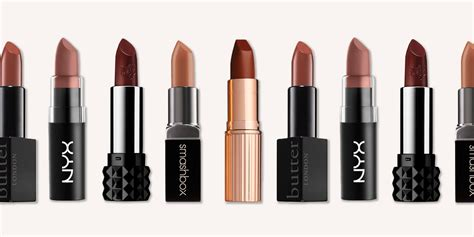 Brown Lip Color Lipstick 13 best brown lipsticks for fall 2018 light and brown lipstick