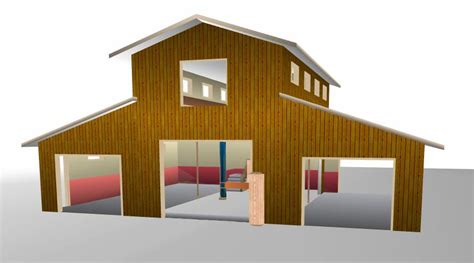 plans for 40 x 60 monitor barn studio design gallery