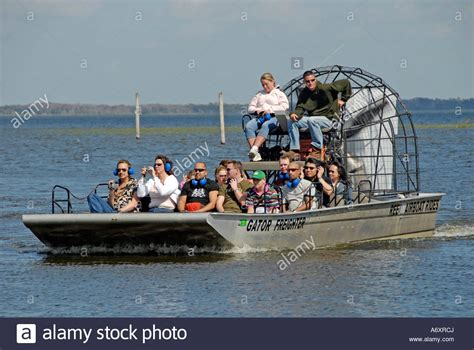 airboat near orlando boggy creek airboat rides on west lake toho at southport