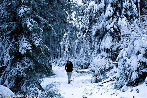 hütte winter westweg winter wanderung etappe 2 dobel forbach
