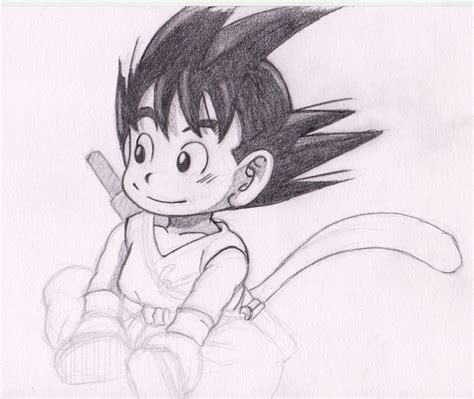 Z Drawing Images by Z How To Draw Goku Pencil Drawing